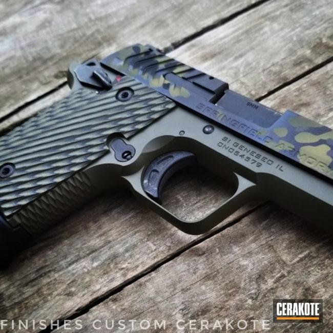 Cerakoted Springfield Armory