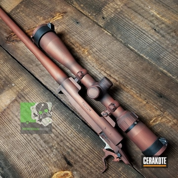 Cerakoted Bolt Gun In H-309 And H-146