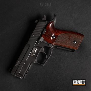 Cerakoted Sig Sauer P229 Handgun In H-146
