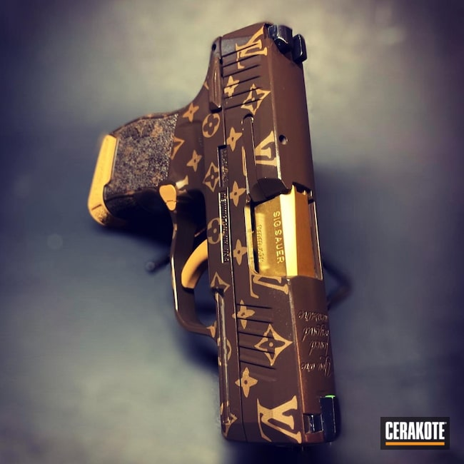 Cerakoted: SHOT,Sig P365,LV,Pistol,Sig Sauer