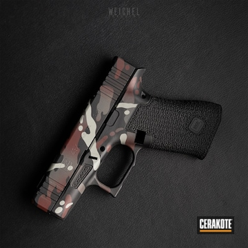 Cerakoted Custom Multicam Glock 43x