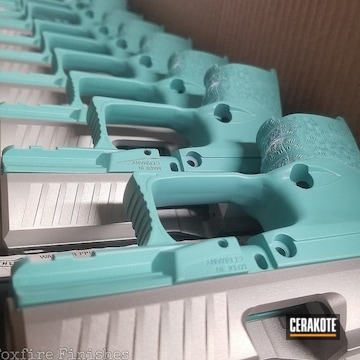 Cerakoted Production Run Of Walther Ppq Handguns In H-175 And H-151