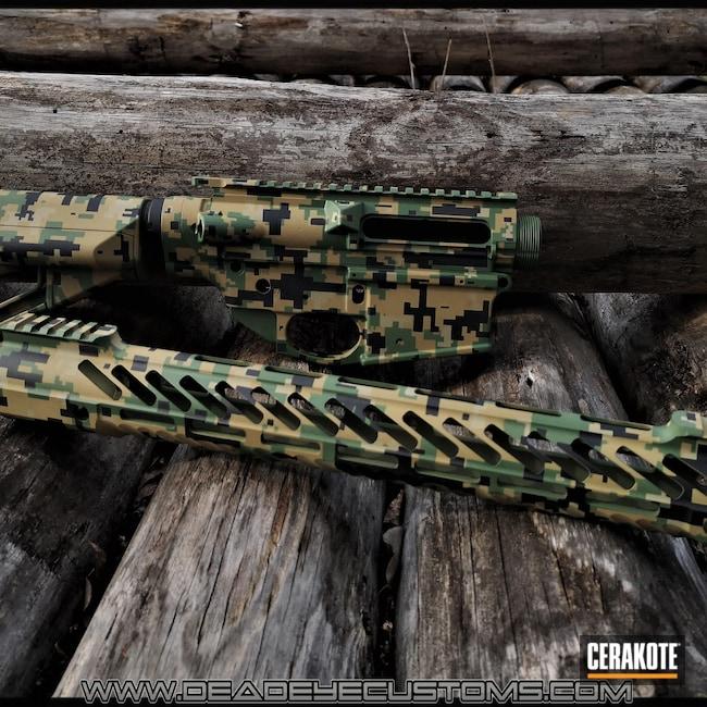 Cerakoted: S.H.O.T,Highland Green H-200,Digital Camo,Graphite Black H-146,MULTICAM® OLIVE H-344,Tactical Rifle,MARPAT,MULTICAM® PALE GREEN H-339