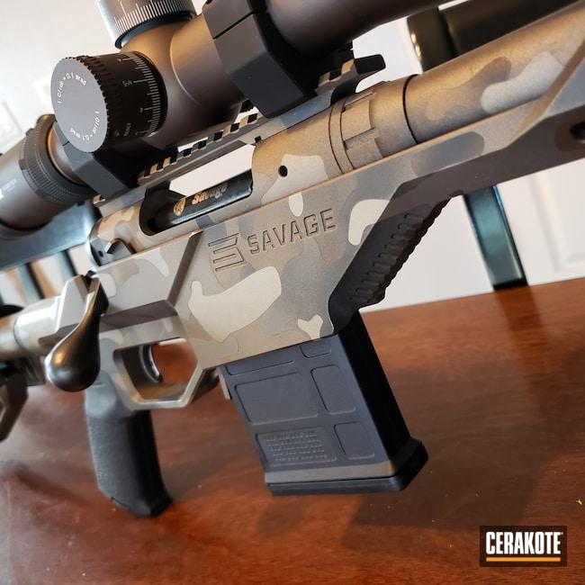 Cerakoted: S.H.O.T,Bolt Action Rifle,Bolt Gun,CERAKOTE GLACIER GOLD C-7800,Savage Arms,CERAKOTE GLACIER TITANIUM C-7900,Burnt Bronze C-148,CERAKOTE GLACIER BLACK C-7600,.308