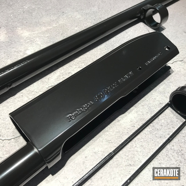 Cerakoted: S.H.O.T,Gloss Black H-109,Gun Parts,Remington