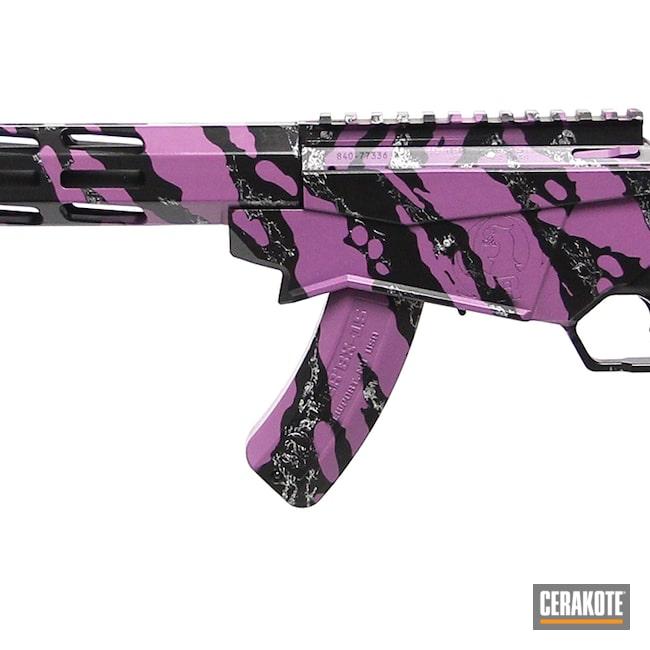 Cerakoted: S.H.O.T,Ruger,Graphite Black H-146,Precision,Wild Purple H-197,Satin Aluminum H-151,Tactical Rifle,.22