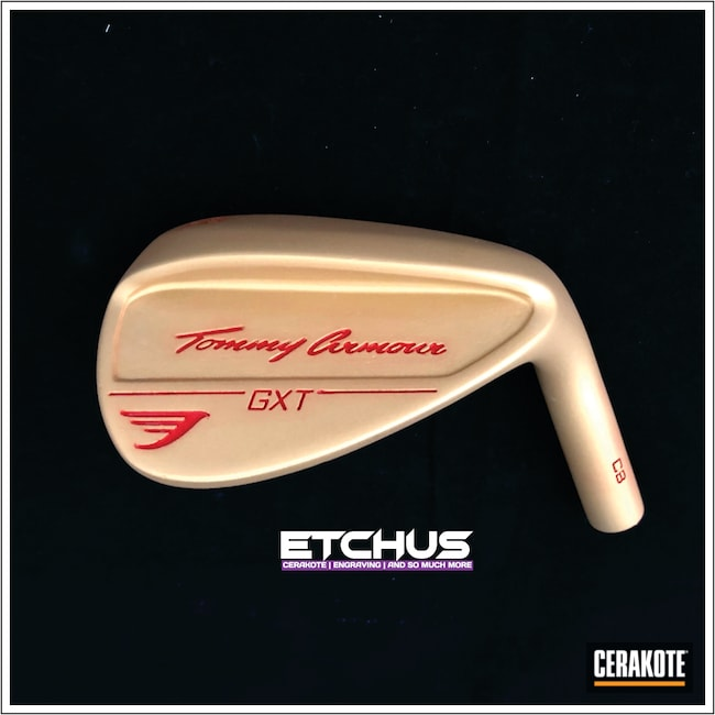 Cerakoted: Golf,Sports,Sports Equipment,Tommy Armour,More Than Guns,Sports and Fitness,Gold H-122