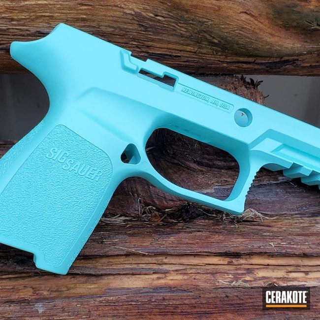 Cerakoted: SHOT,9mm,Robin's Egg Blue H-175,320,Pistol,Sig Sauer,Sig,Sig 320,Pistol Frame