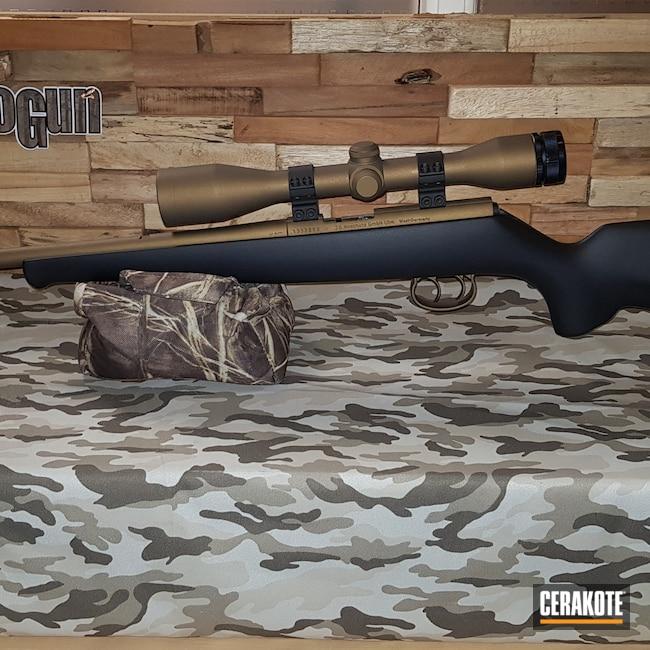 Cerakoted: SHOT,Bolt Action Rifle,Graphite Black C-102,Burnt Bronze H-148,Camo,#modell 1515-1516,J. G. Anschütz,.22