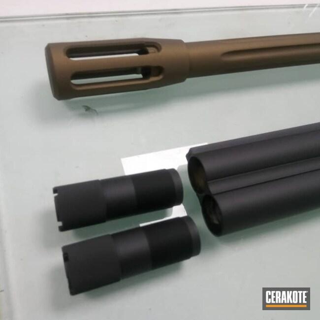 Cerakoted: SHOT,Blaser,Graphite Black H-146,Barrel,Barrel Types,Blaser R93