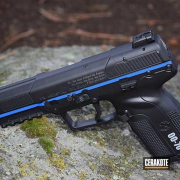 Thin Blue Line Fn Five-seven Handgun