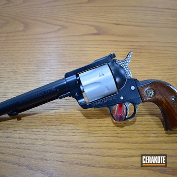 Cerakoted .357 Ruger Revolver In E-110 And H-255