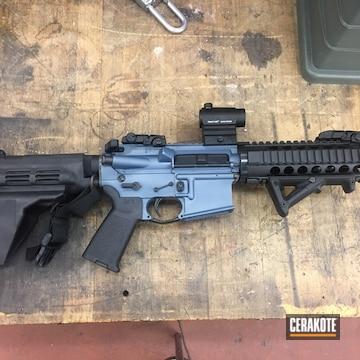 Cerakoted Refinished Ar Pistol In H-185