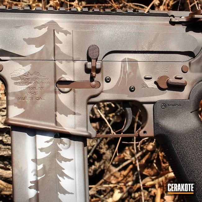Cerakoted: S.H.O.T,Hidden White H-242,Desert Sage H-247,wyoming,AR,Anderson,BARRETT® BROWN H-269,Tactical Rifle,6.5 Grendel,6.5,Custom Camo,AR-15