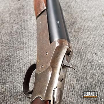 Cerakoted Stevens Single Barrel Shotgun