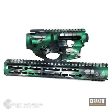 Cerakoted Custom Kryptek Upper / Lower / Handguard