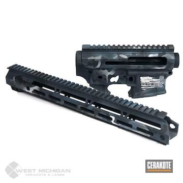 Cerakoted Multicam Grey Custom Ar