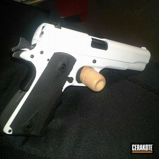 Cerakoted: Bright White H-140,S.H.O.T,Pistol,1911,45 ACP