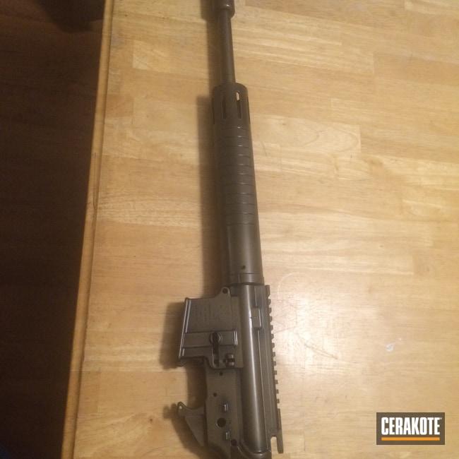 Cerakoted: SHOT,Burnt Bronze H-148,Tactical Rifle