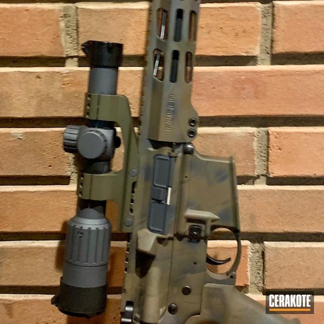 Cerakoted: SHOT,Stone Grey H-262,MAGPUL® STEALTH GREY H-188,Ruger,Patriot Brown H-226,Tactical Rifle,MAGPUL® FOLIAGE GREEN H-231,AR-15