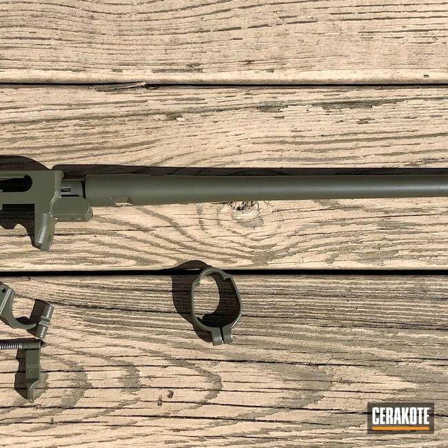 Cerakoted: Rifle,10/22,Ruger,O.D. Green H-236,.22