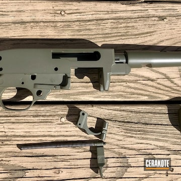 Cerakoted Ruger 10/22 Rifle Parts In H-236
