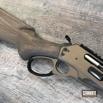 Cerakoted 1895 Marlin Lever Action Rifle In H-148