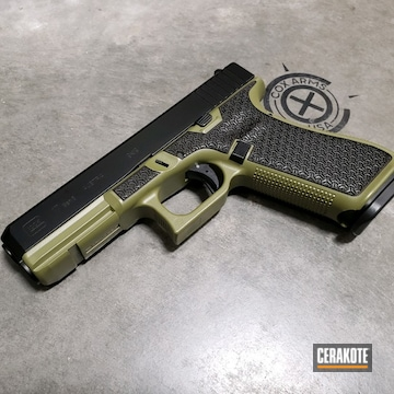Cerakoted Glock 17 Gen 5 Handgun In H-189