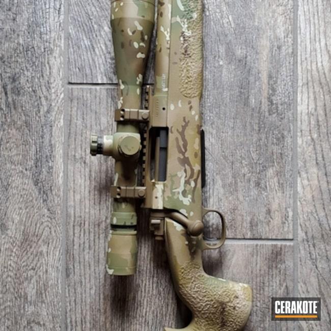 Cerakoted Multicam Bolt Action Rifle