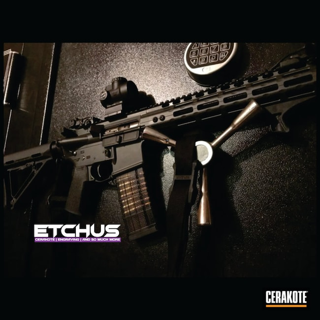 Cerakoted: Cerakote Elite Series,Smoke E-120,Elite,AR-15,AR15 Parts