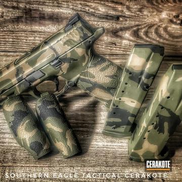 Custom Camo Smith & Wesson M&p 40