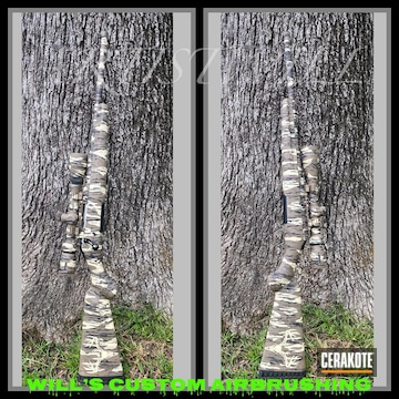 Cerakoted Bottomland Camo Pattern