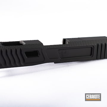 Cerakoted Black Glock 43 Slide