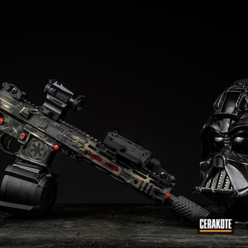 Cerakoted Star Wars Themed Ar In H-190