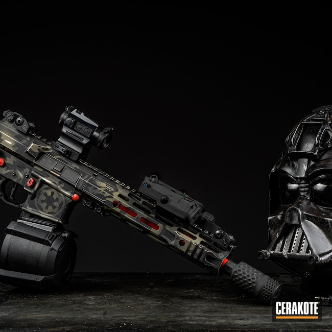 Cerakoted: Rifle,Armor Black H-190,Star Wars