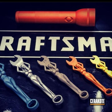 Cerakoted Craftsman Wrenches In H-309, H-234, H-317 And H-185