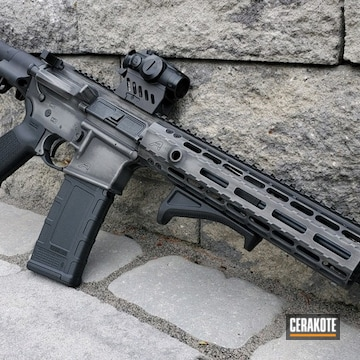 Cerakoted Aero Precision .33 Blackout In H-146 And H-227