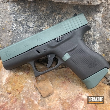 Cerakoted Glock 43 In H-338