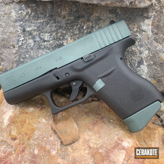 Cerakoted Glock 43 In H-338