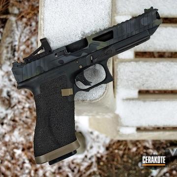Cerakoted Glock 34 Handgun In H-234, H-146 And H-236