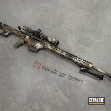 Cerakoted Kryptek Ruger Precision Rifle
