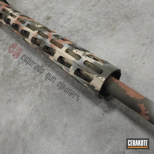 Cerakoted: S.H.O.T,6.5 Creedmoor,Ruger,MultiCam,Ruger Precision Rifle,Federal Brown H-212,DESERT VERDE H-256,BENELLI® SAND H-143,MAGPUL® O.D. GREEN H-232