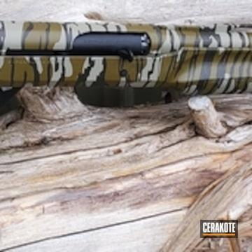 Cerakoted Benelli 20 Gauge Shotgun In H-146 And Mc-161