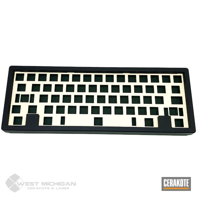 Cerakoted: Lifestyle,Armor Black H-190,More Than Guns,Keyboard,Keyboard Case