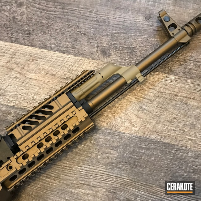 Cerakoted: S.H.O.T,Coyote Tan H-235,G&G AK Romanian,G&G Armament,TROY® COYOTE TAN H-268,Burnt Bronze C-148,Airsoft,cod,Modern Warfare,AK Rifle,AK
