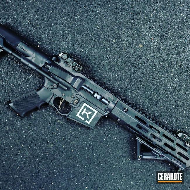 Cerakoted: S.H.O.T,murdercamo,BLACKOUT E-100,#custom,Graphite Black H-146,Armor Black H-190,Tactical Rifle,SBR,AR-15