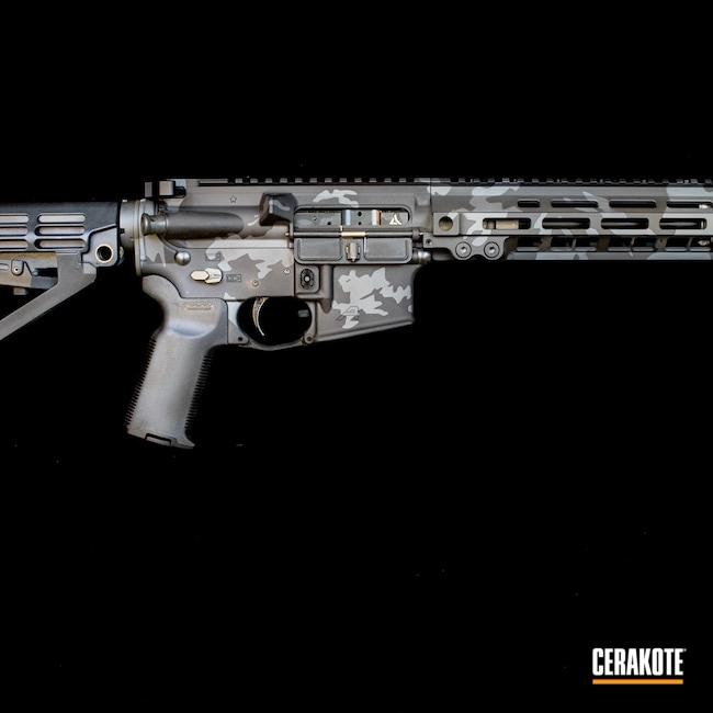 Cerakoted: S.H.O.T,M81,Sniper Grey H-234,MultiCam,Graphite Black H-146,Tactical Rifle,Urban Camo