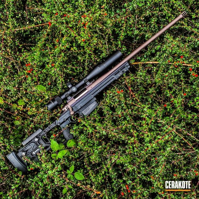 Cerakoted: S.H.O.T,Bolt Action Rifle,Vortex,Custom Rifle,VORTEX® BRONZE H-293,Custom Build