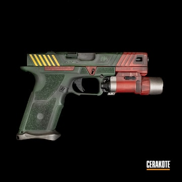 Cerakoted Custom Mandalorian Themed Glock Handgun