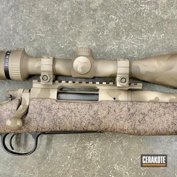 Cerakoted 3-color Multicam Bolt Action Rifle